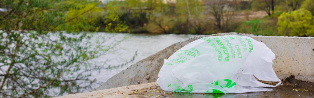 мусор- переработка пластиковых пакетов